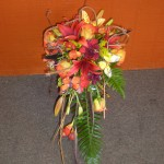 Fall Cascading bouquet.