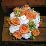 UT tribute bouquet. We can work with any team colors.