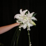 white starburst bouquet