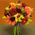Fall hand-tied bouquet