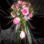 Young and fun quinceanera bouquet.