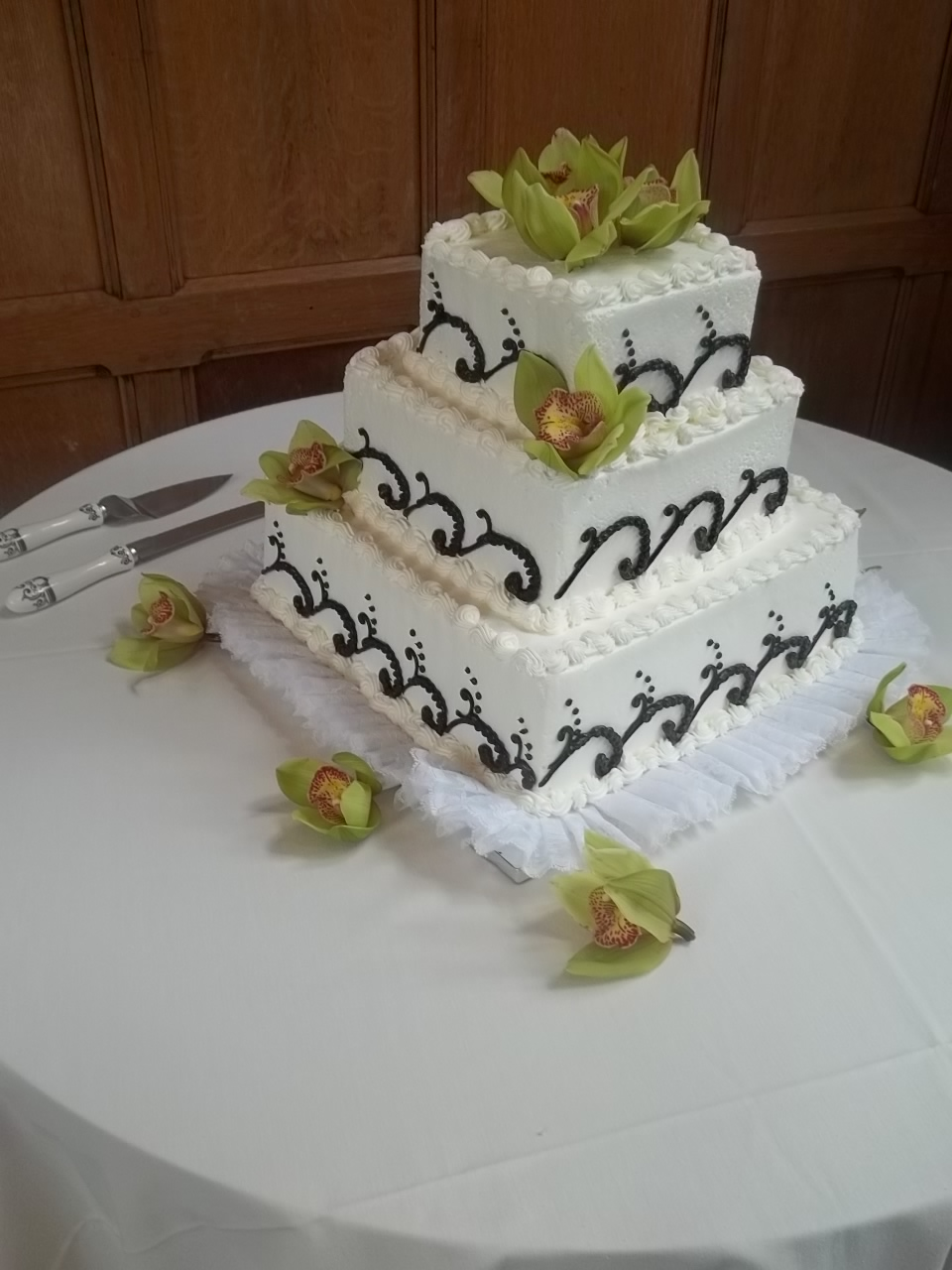 layer white cake with orange chiffon cake with orange layer cake ...