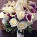 white roses and picasso callas