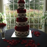 roses make this cake tower above the rest